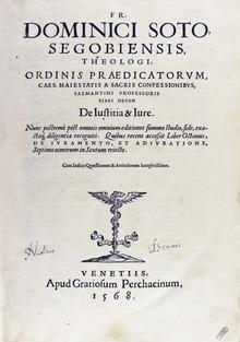 Domingo De Soto Wikipedia
