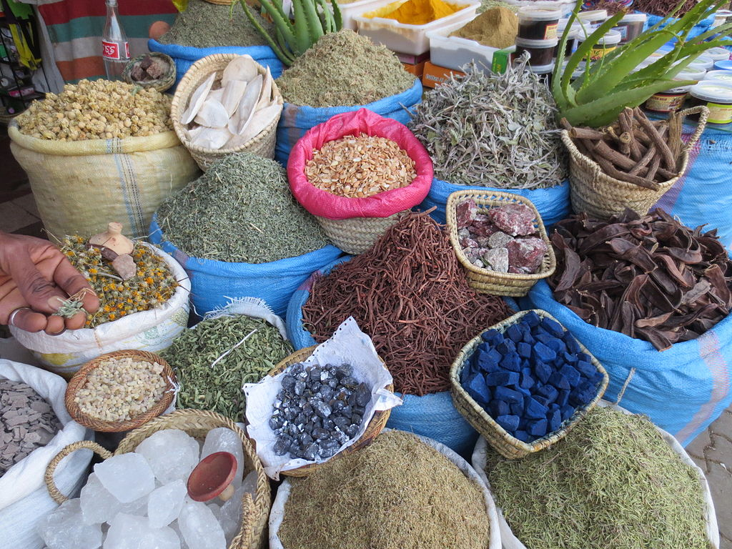 Herboristerie à Marrakech au Maroc - Photo d'Arnaud 25