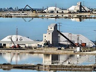 South Bay Salt Works Salt factory in southern San Diego, US