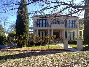Turner, Australian Capital Territory - A recently constructed double storied home in southern Turner.