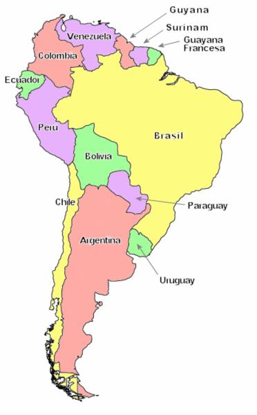 Conflictos Territoriales en Sudamerica