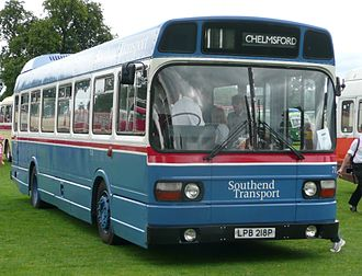 Arriva Southend - A preserved Leyland National which was run by Southend Transport.