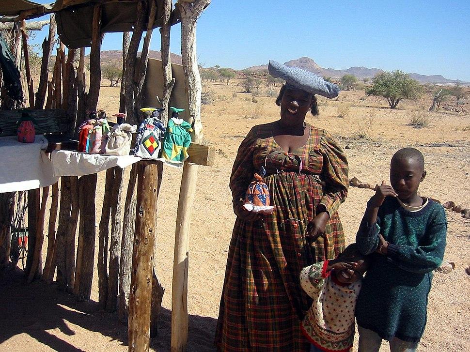 Souvenir Seller Namibia