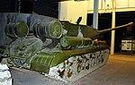 Soviet IS.2 tank, Land Warfare Hall, Imperial War Museum, Duxford. (30987498776).jpg