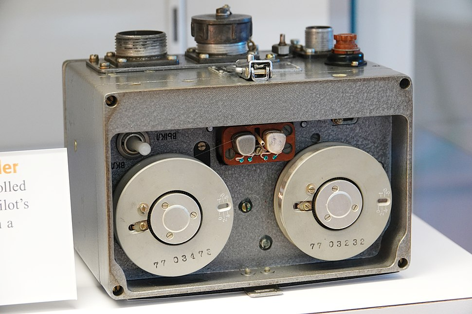 Soviet MS-61 Cockpit Voice Recorder