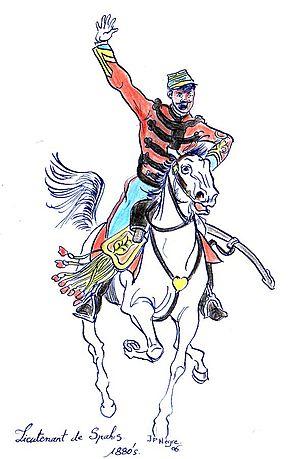 Spahi - Spahi officer (c.1880)
