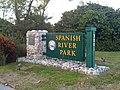 Spanish River Park Sign; FL SR A1A, Boca Raton.jpg