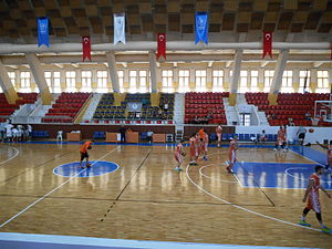 Menderes Sports Hall - Inside the hall