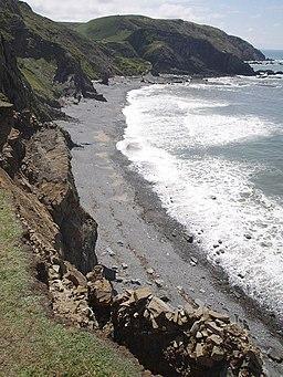 Speke's Mill Beach - geograph.org.uk - 506802