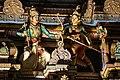 Sri Mahamariamman Temple, Kuala Lumpur. Gopuram from the East. Sculpture. 2019-12-10 22-09-24.jpg