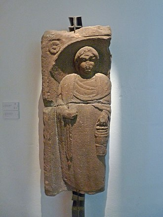 Altorf - Funerary Stele from the 3rd century (Archeological Museum of Strasbourg)