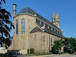 St. Patrick's Church (Fall River, Massachusetts) - Image: St Patrick Church FR