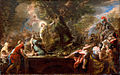 St. Nicolas of Bari Felling a Tree Inhabited by Demons by Paolo De Matteis, oil on canvas, c. 1727, High Museum of Art.jpg