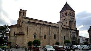 Saint-Gaudens, Haute-Garonne - Church of Saint-Pierre-et-Saint-Gaudens.