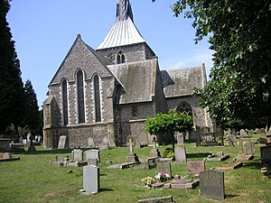 Wheathampstead - Image: St Helen's Church, Wheathampstead