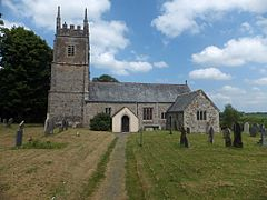 St James church, Jacobstowe (geograph 3498346).jpg