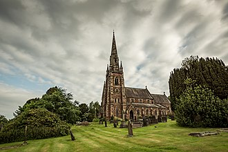 Keele - Image: St John the Baptist Church, Keele