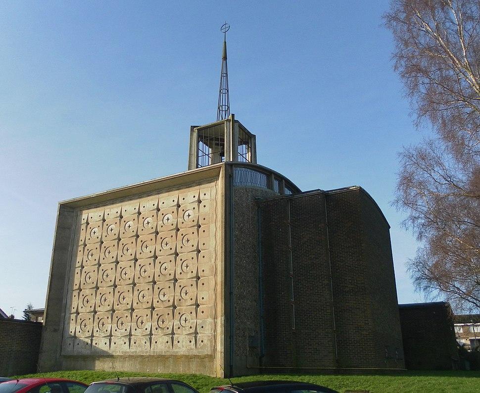 St Mary's Church, Southgate, Crawley (Jan 2013)