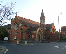 St Mary of the Angels Church, Richmond Road, Worthing.JPG