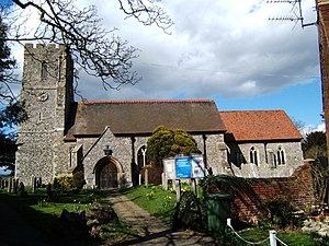 Borough of Dartford - St Nicholas's church, Southfleet, is in the borough.