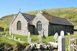 Gunwalloe - Gunwalloe parish church