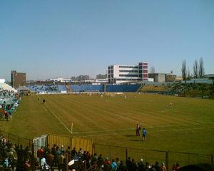 Stadionul Silviu Ploeșteanu - Image: Stadionul Silviu Ploeşteanu