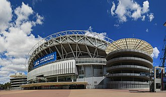 Canterbury-Bankstown Bulldogs - Exterior of ANZ Stadium