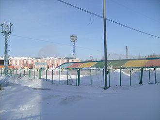Trud Stadium (Arkhangelsk) - Image: Stadium Trud Arkhangelsk