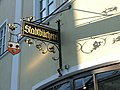 Stadtbücherei Moosburg Germany Sign 02-2005.jpg