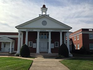 Stafford County, Virginia - Image: Stafford VA courthouse