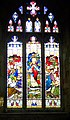 Stained glass window, St Mary's Church, Bruton - geograph.org.uk - 666101.jpg