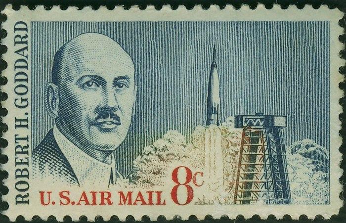 Stamp-robert h goddard