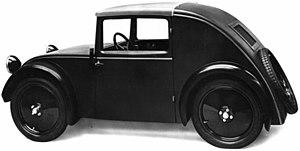 Josef Ganz - First model of the Standard Superior, 1933