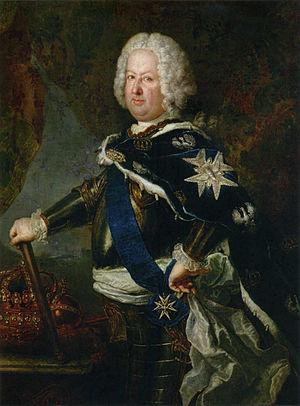 Polish–Lithuanian royal election, 1733 - Image: Stanisław Leszczyński, König von Polen (Pesne)