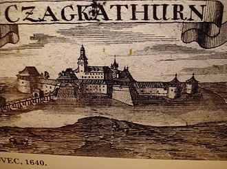 Čakovec - Zrinski Castle in 1640
