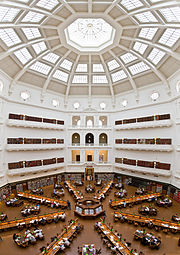 State Library of Victoria La Trobe Reading Room (5th floor view)