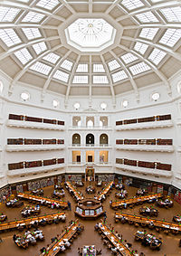 State Library of Victoria La Trobe Reading room 5th floor view.jpg
