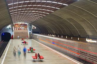 Bucharest Metro - Titan metro station on M1 Line
