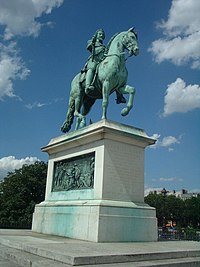 Statue of Henry IV on the Pont Neuf