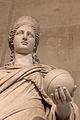 Statue de Junon, Louvre, Ma 485, detail.JPG