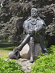 Statue of Jean Georg Haffner in Sopot.jpg