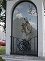 Statue of Saint John of Nepomuk at Szent Erzsébet Bridge, Esztergom.jpg