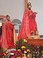 Statue of Saint Mark in San Marcos Contla, Tlaxcala.jpg