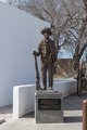 "Statue of William Bonney, or ""Billy the Kid,"" in the arts district of little San Elizario, near El Paso, Texas LCCN2014630950.tif"