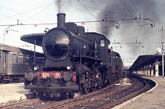 Venezia Santa Lucia railway station - Steam train from Santa Lucia to Bassano del Grappa, August 1973.