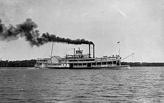 Lake Minnetonka - Belle of Minnetonka circa 1885