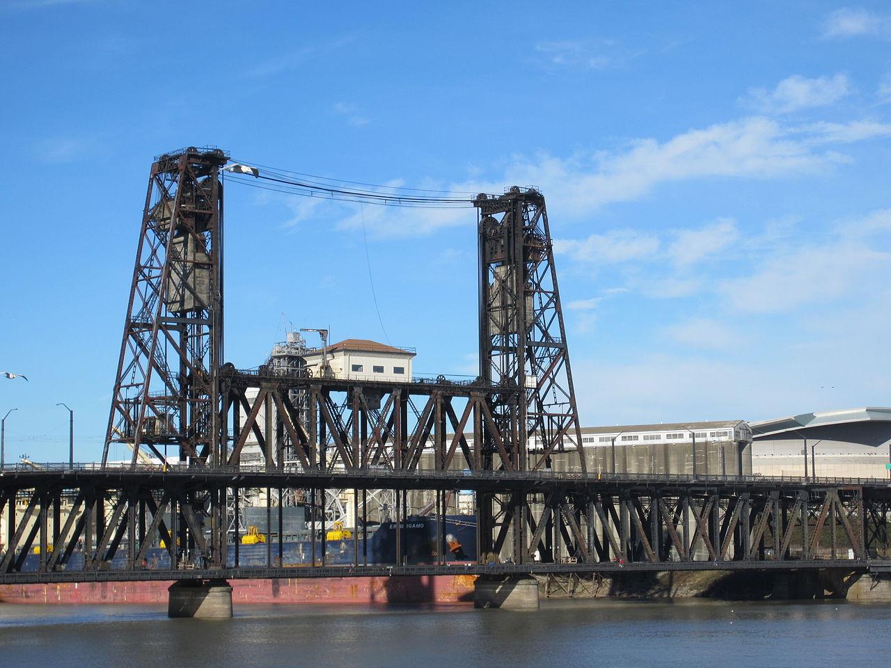 File Steel Bridge Portland Or 2012 Jpg Wikimedia Commons