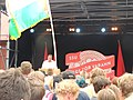 Stefan Löfven at the Swedish Social Democratic Youth League's general election camp 2014 (14822276146).jpg