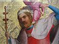 Stephan lochner, cristo in croce tra santi, cristoforo.JPG