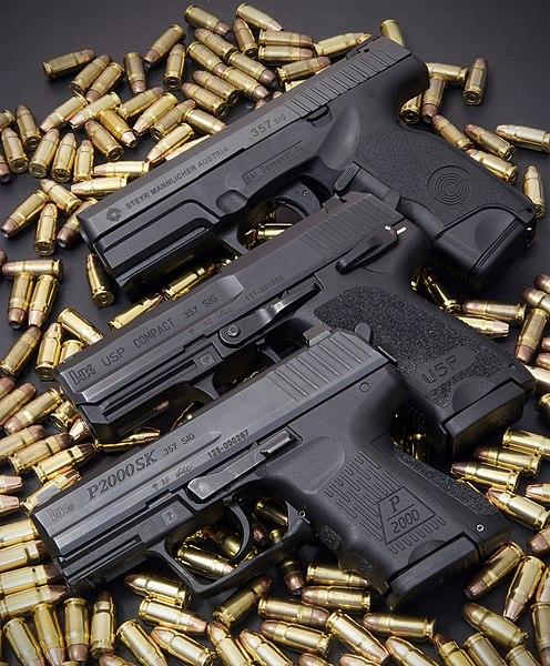 357 sig pistols